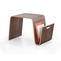 Bentwood Magazine Table - Free Shipping Today - Overstock.com - 15767636 - Mobile