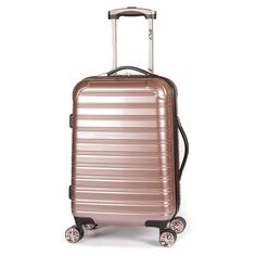 IFLY Hardside Luggage Fibertech - 20 in. - Gold - 573280B690BE4721951431A9248BE5FC