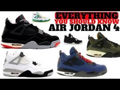 95ad1e342 EVERYTHING You Need To Know About The AIR JORDAN 4! History Meets Hype -  YouTube