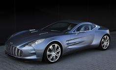 """The world's second most expensive car... Aston Martin One-77 $1,850,000. The name """"One-77"""" says it all: beauty and power in One, limited to 77 units. With 750 hp, it is able to travel from 0 to 60 mph in 3.4 seconds and reaching a maximum speed of 220 mph (354 km/h)."""