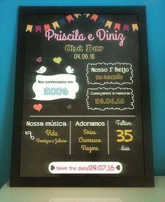 Lindo Chalkboard para o chá da Priscila no tema festa junina!  #papelariapersonalizada #festapersonalizada #personalizados #chalkboard #chadepanela #chabar #noivado #wedding #casamento #instanoivas #instawedding #instacasamento #instalove #love #nandamoraesdesign