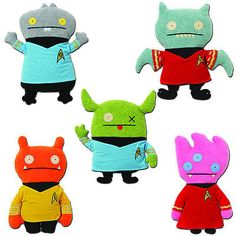 Uglydolls 158781: Uglydoll Star Trek Collection - Set Of 5 - 12-Inch Plush Toy Figures - Gund -> BUY IT NOW ONLY: $129.95 on eBay!