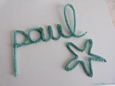 prenom en tricotin paul