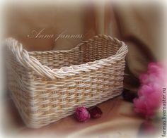 "Купить Коробочка ""Music"". - бежевый, коробочка для хранения, плетеная коробочка, корзиночка, прованс, романтика, музыка"