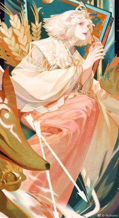 #Onmyoji# Pretty Art, Cute Art, Art Et Illustration, Illustrations, Art Sketches, Art Drawings, Wow Art, Character Design Inspiration, Aesthetic Art