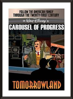 Carousel of Progress in Disney's Tomorrowland Poster