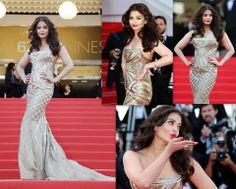 Aishwarya Rai at Cannes 2014 <3