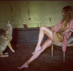 Feral Frocks and Frills : Nan goldin shot erin wasson
