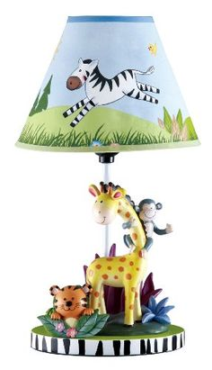 Teamson Sunny Safari Table Lamp $51.00