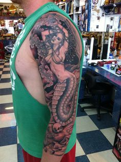 Medusa Tattoo by Chris Erickson