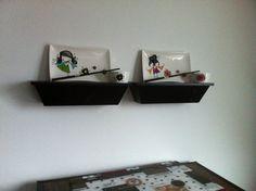 Plats à sushis de la collection Ketto. Peindre et cuire !