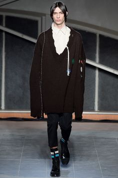 Raf Simons menswear fall/winter 2016