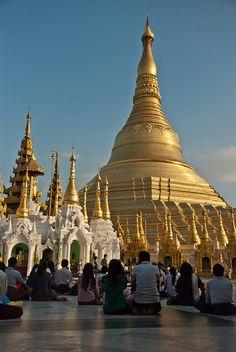 Shwedagon Pagoda, Yangon, Myanmar ( #Burma )