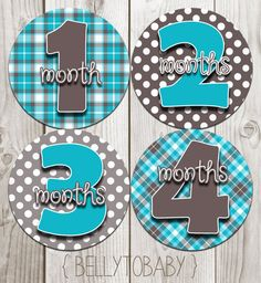 Hey, I found this really awesome Etsy listing at https://www.etsy.com/listing/118976930/monthly-baby-milestone-stickers-baby-boy