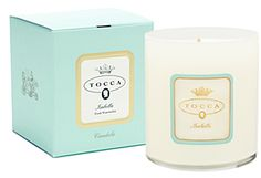 TOCCA - ISABELLA CANDLE Tocca Isabella Candle is the fresh aroma of watermelon that hits you unexpectedly. Mysterious and intriguing, like a young Sicilian beauty, Isabella evokes legends of lost sailors in the Southern Mediterranean seas.  Tocca Candles are synonymous with simplicity, refinement and sensibility. If there is one accessory with which to adorn your home, let it be a Tocca candle.  Burn Time: 60 hours Scent Family: Fruity Primary Scents: Watermelon