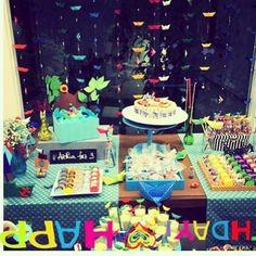 E o #BarquinhoDePapel navegou até BH pro festejo do pequeno Arthur!!!  . . . A festa ficou linda pequeno! Obrigada por nos permitir comemorar seus 3 anos com você e todas as pessoas especiais da sua vida!!! Obrigada pela confiança mamãe!  . .. E você já escolheu seu Box???? Saiba mais em nosso site!  . #FestejoInBox #ComemoreComAFestejo #FestejeComAFestejo #FestaDeCrianca #FestaDeCriança #FestaInfantil #FestaPersonalizada #FestaEmCasa #PartyDecor #KidsParty #CompreDasMães…