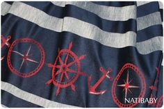Natibaby Marsupial Mamas Exclusive Nautical Tri-Weave (Linen Blend) in a size 4 please :)