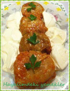 Porsiyonluk Lahana Dolması ( stuffed cabbage)