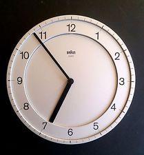 Original Braun Abw 31 Quartzo Relógio De Parede Dietrich lubs Dieter Rams…