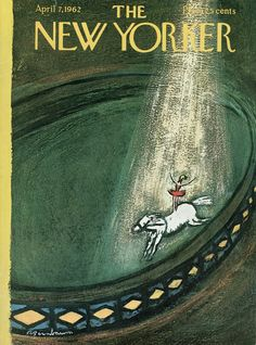 The New Yorker - Saturday, April 7, 1962 - Issue # 1938 - Vol. 38 - N° 7 - Cover by : Abe Bimbaum