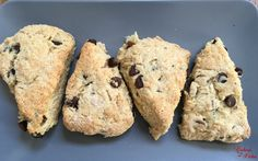 This chocolate chip scone recipe is amazingly moist, tender and full of deliciousness! I mean who doesn't love a warm, soft breakfast scone to accompany their morning coffee? For Father's Day I surprised my hubby with homemade chocolate chip scones for breakfast. There is a little coffee shop near our home that sells these and …