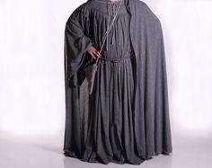 gandalf the grey costume   Gandalf The Grey Wizard Costume - Mens LARGE