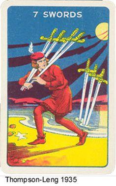 Thomson-Leng Waite-Smith type Tarot deck
