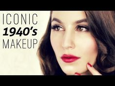 Iconic 1940's Makeup Tutorial Video - Shameless Fripperies