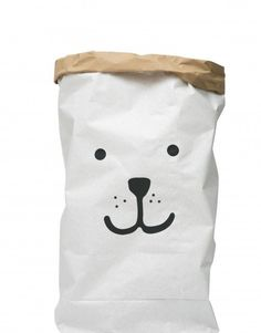 Paper Storage Bag - Bear