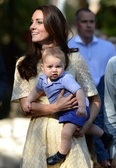 We take a look back at Prince George's life in pictures as he celebrates his fourth birthday. From his first public apperance, to his many royal tours and his very first steps. Prince Georges, Prince George Alexander Louis, Prince William And Catherine, William Kate, Prince Andrew, Prince Edward, Estilo Kate Middleton, Kate Middleton Photos, Kate Middleton Style