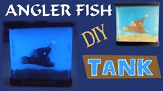 For this week, I wanted to do a scary diy! Since's angler fish belong in the deep sea, nothing scares me more than not knowing whats in the water. Craft Websites, Resin Tutorial, Diy Tank, Angler Fish, Tanked Aquariums, Diy Doll, Invite Your Friends, Aquarium Fish, Polymer Clay