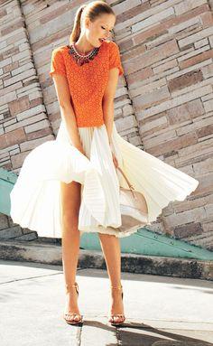 Plisowane spódnice - Poradniki - Warsztaty - Burda.pl - szycie i wykroje! Short Sleeve Dresses, Dresses With Sleeves, Vintage, Fashion, Moda, Sleeve Dresses, Fashion Styles, Gowns With Sleeves, Vintage Comics