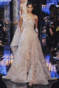 www.thisisglamorous.com   Runway : Elie Saab Haute Couture Fall 2014 by {this is glamorous}, via Flickr
