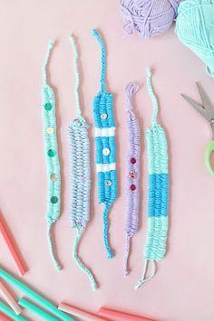 DIY Woven Yarn Frien