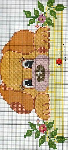 Baby Cross Stitch Patterns, Cross Stitch Baby, Cross Stitch Animals, Cross Stitch Charts, Cross Stitch Designs, Cross Stitching, Cross Stitch Embroidery, Embroidery Patterns, Pixel Crochet