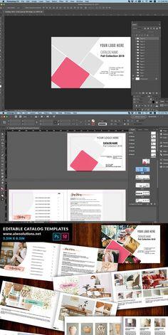 Indesign Software, Indesign Templates, Stationery Templates, Catalog, Photoshop, Landscape, Scenery, Brochures, Corner Landscaping