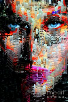 I Got My Eyes On You Digital Art by Rafael Salazar