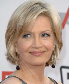 Layered Hairstyles For Women Diane Sawyer Short Hair Styles Best Haircut