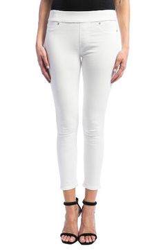 Free shipping and returns on Liverpool Jeans Company Sienna Pull-On Stretch Skinny Ankle Jeans at Nordstrom.com. A sleek and smooth-fitting alternative to traditional jeans, stretchy denim leggings offer flexible comfort in a bright-white wash.