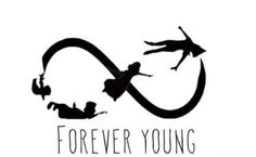 Forever young, Peter Pan style.