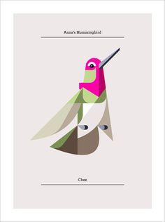 Design Work Life » Lumadessa Hummingbirds