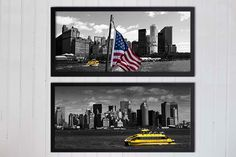 Black and white Photography New York by UnAirDeParisByAlbane, photo for wall