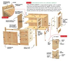 Hoosier Cabinet  sc 1 st  Pinterest & 21 DIY Kitchen Cabinets Ideas u0026 Plans That Are Easy u0026 Cheap to Build ...