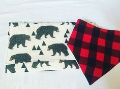 The perfect gift for new baby bib & burp cloth set!