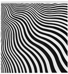 Leading exponent of Op Art in the 1960s - Bridget Riley
