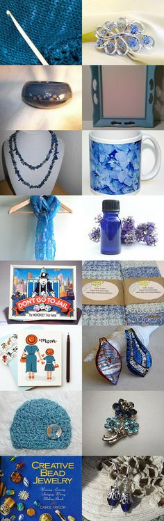 Don't be Blue- Bargains on Etsy!  by Julie Duvall on Etsy--Pinned with TreasuryPin.com