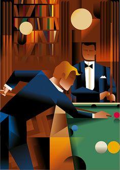 Este man se las trae. | por Mads Berg.