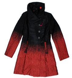 Desigual Suenos Liquidos jacket 27E2928, Free Shipping at CelebrityModa.com