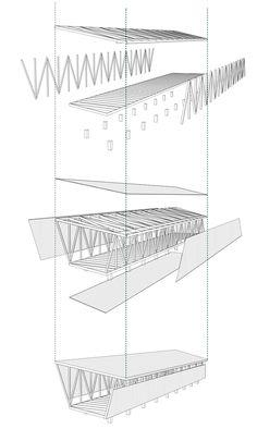 En Detalle: Cortes Constructivos / Estructuras de Madera | Plataforma Arquitectura