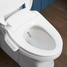 Experience a new level of cleansing for daily comfort and confidence. This advanced bidet toilet seat with cleansing functionality uses naturally soothing water as a refreshing, hygienic alternative to toilet tissue Cheap Office Decor, Cheap Home Decor, Home Decor Kitchen, Kitchen And Bath, Bidet Toilet Seat, Home Interior, Interior Livingroom, Home Gadgets, Home Repairs
